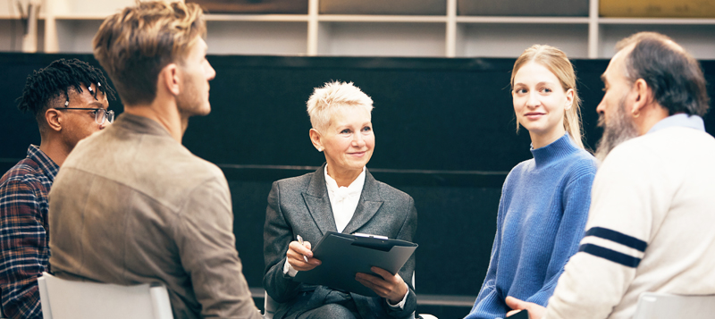 Utbildning coaching i grupp